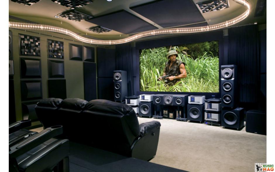Домашний кинотеатр установка