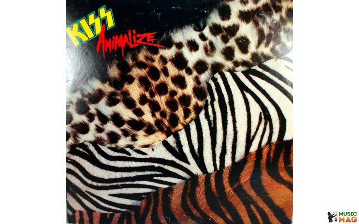 KISS - ANIMALIZE 1984 USA EX / EX