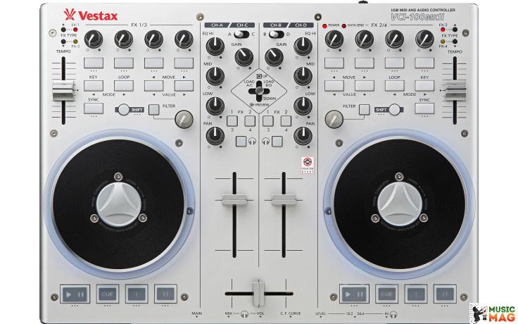 Vestax VCI-100 mkII Silver