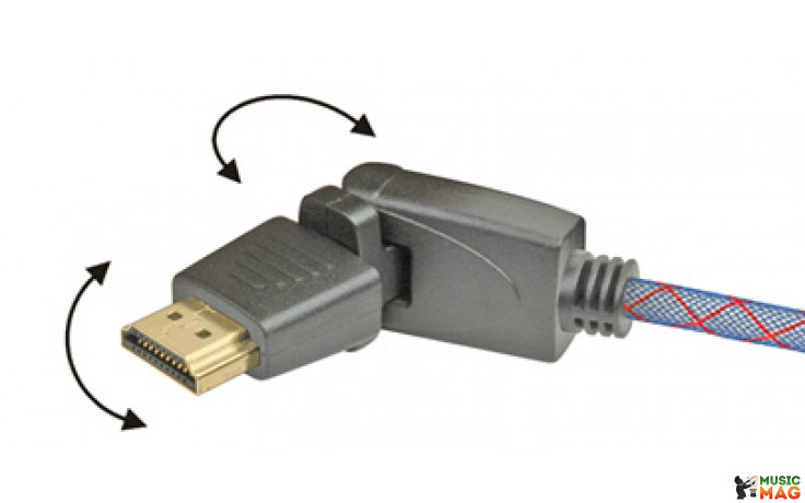 Real Cable HD-E-360 (HDMI-HDMI) 1.4 3D Ethernet 1M00
