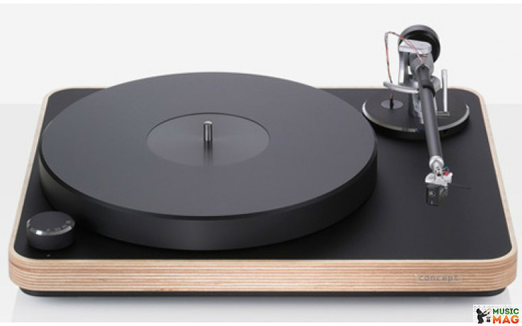 Clearaudio Concept (MC) Black with wood