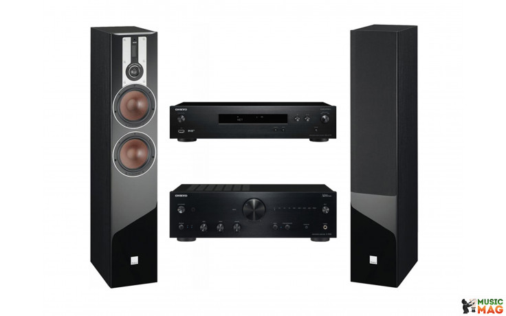 Onkyo A-9150 + Onkyo NS-6170 + Акустика DALI Opticon 6