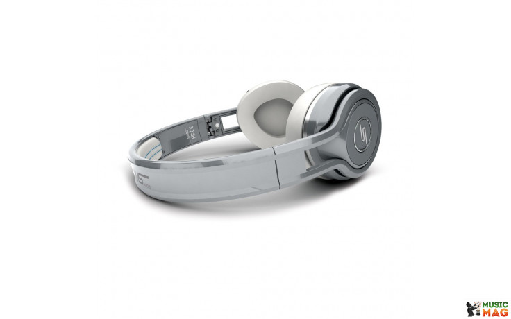 SMS SYNC by 50 Wireless Over-Ear Silver