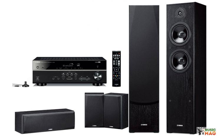 Yamaha Kino SYSTEM 385 (RX-V385 + NS-F51 + NS-P51) Black