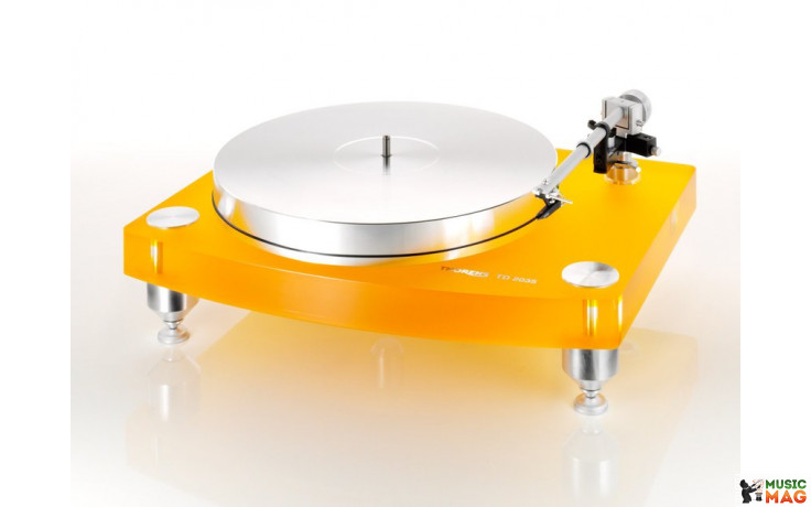 Thorens TD-2035 BC version Yellow, Без тонарма