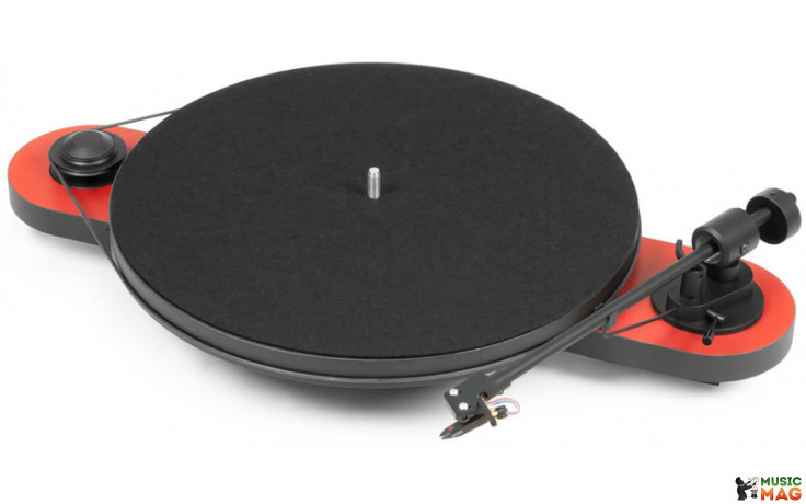 Pro-Ject ELEMENTAL PHONO USB (OM5e) - RED/BLACK