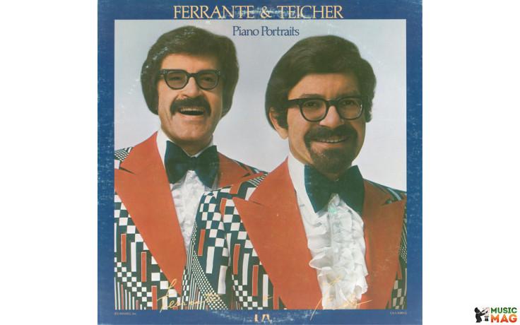 FERRANTE & TEICHER - PIANO PORTRAITS 1976 (UA-LA585-G) UNITED ARTISTS/USA OS/MINT