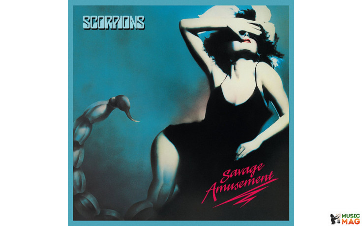 Scorpions ‎– Savage Amusement (BMG ‎– 4050538150209) 180 gr. EU