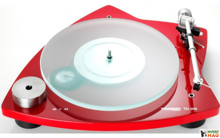 Thorens TD 309 Glossy Red