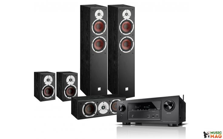 Denon AVR-X1600H + Dali Spektor set 5.0 Black