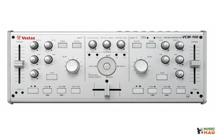 Vestax VCM-100 Silver