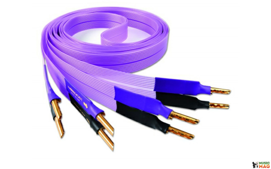 Nordost Purple flare, 2x3m is terminated with low-mass Z plugs