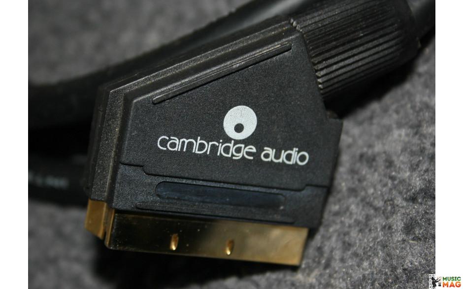 CAMBRIDGE AUDIO VID300 Scart Lead - 2M / 24K GOLD CONNECTORS