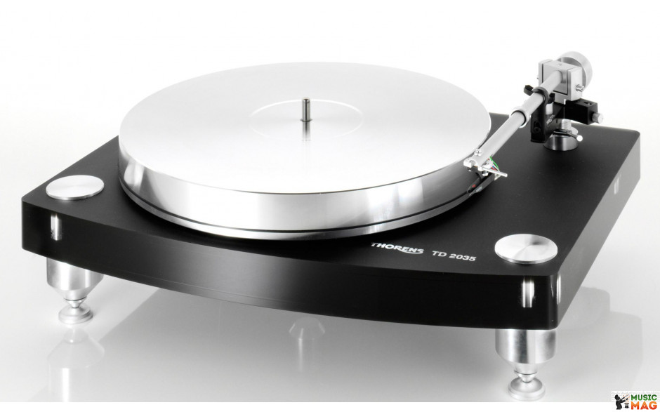 Thorens TD-2035 Black, TP 92, w/o cartridge