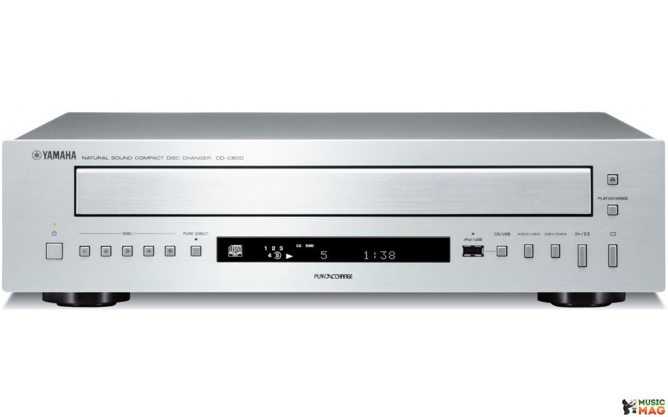 Yamaha CD-C600 Silver