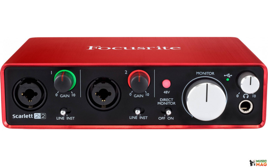 FOCUSRITE SCARLETT 2I2 NEW