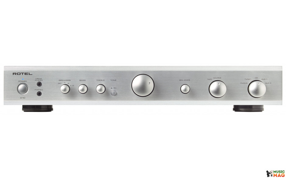 Rotel A10 silver