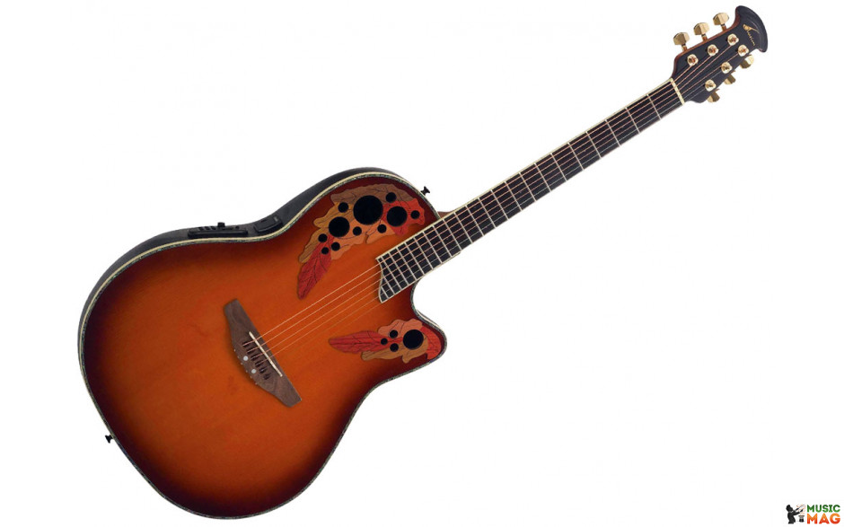 Ovation Celebrity CC44 Acoustic-Electric Guitar | Musician ...
