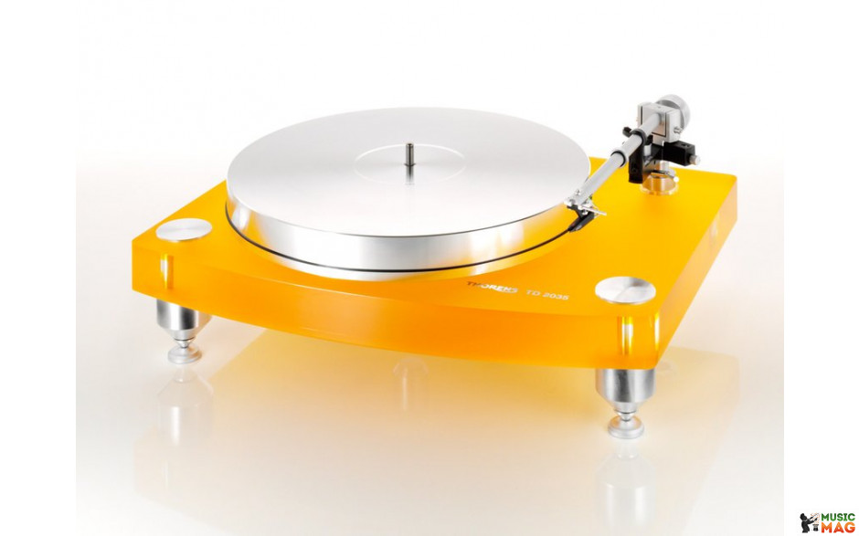 Thorens TD-2035 Yellow, TP 92, w/o cartridge