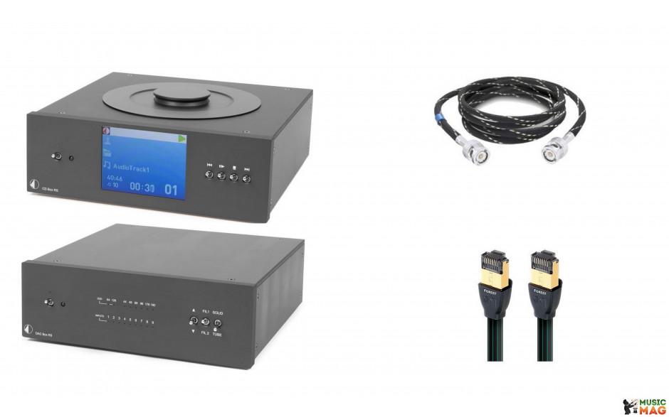 Pro-Ject CD BOX/DAC BOX RS Super pack - BLACK