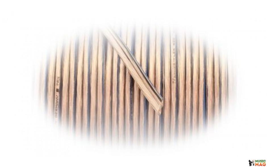 GOLDKABEL SPEAKER-FLEX прозрачный, поперечное сечение 2 x 0,75 qmm