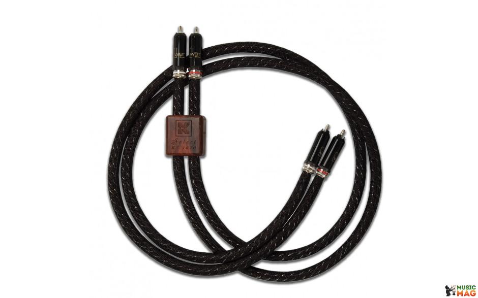 Kimber Kable Select Silver 1030 (RCA-RCA) 1.0 m с коннекторами WBT -0102 AG