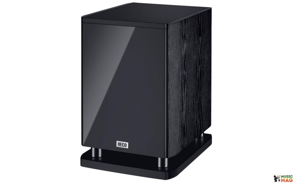 Heco Music Style Sub 25 A Piano Black/Ash Black