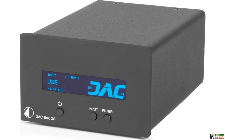 PRO-JECT DAC BOX DS BLACK