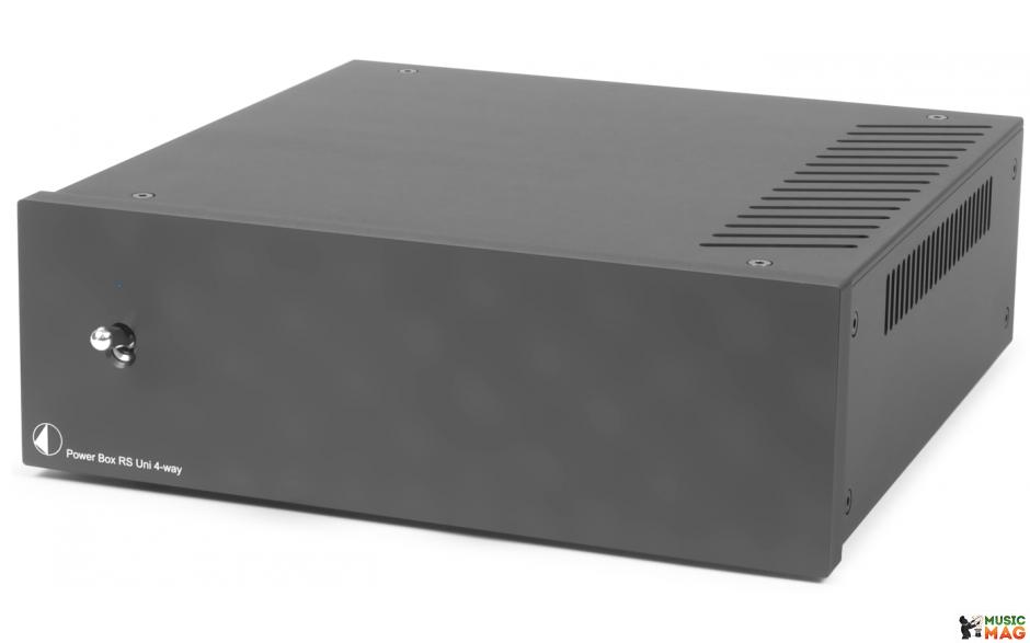 Pro-Ject POWER BOX RS UNI 4WAY BLACK