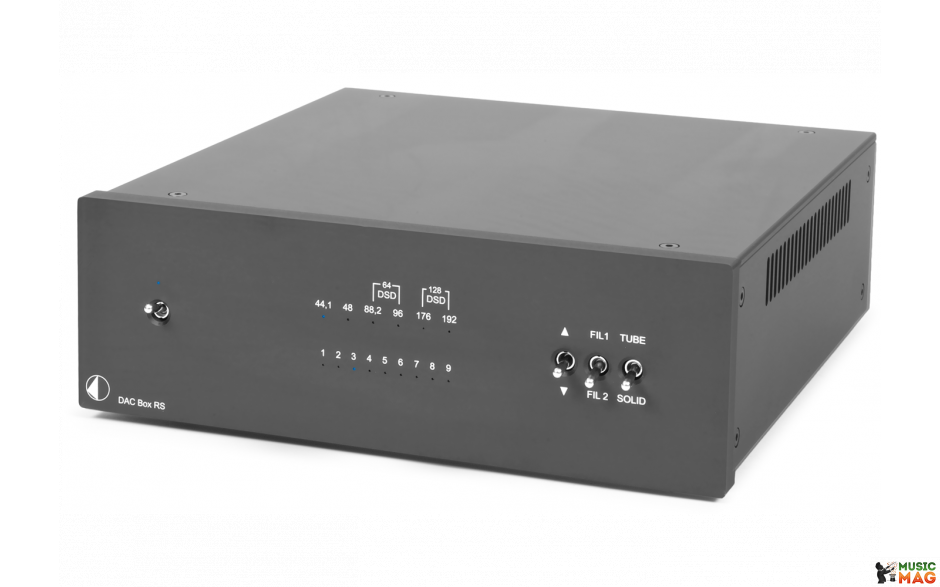 PRO-JECT DAC BOX RS BLACK