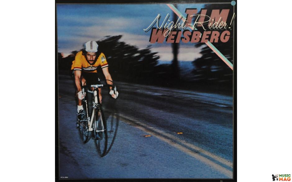 TIM WEISBERG - NIGHT RIDER 1979 (MCA-3084, Cut Corner) MCA RECORDS/USA OS/MINT