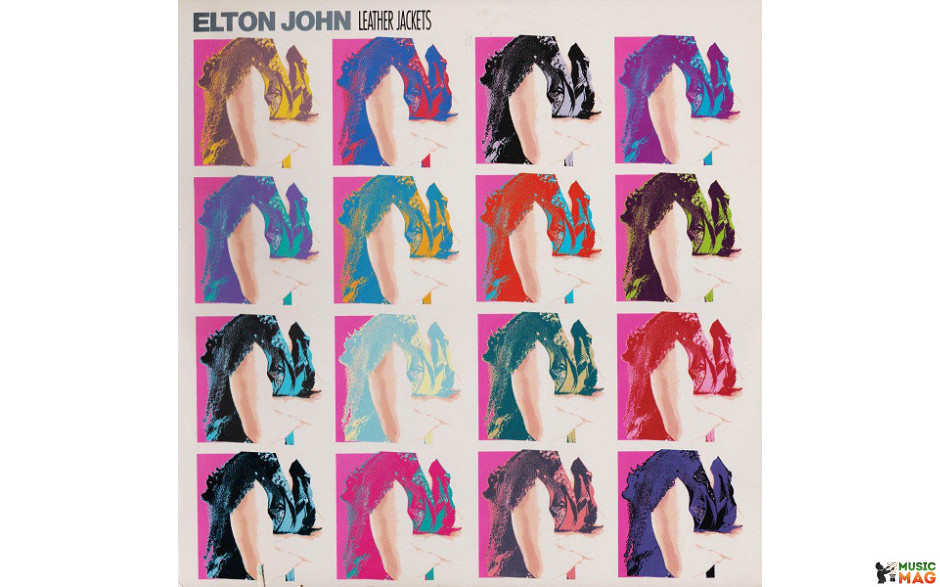 Elton John ‎– Leather Jackets 1986 USA NM/NM