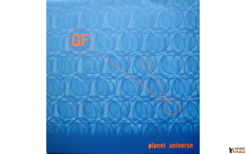 GF - PLANET UNIVERSE 2 LP Set (KKT 048) KK TRAXX/BELGIUM MINT (0728182804833)