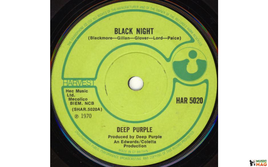 DEEP PRUPLE - BLACK NIGHT/SPEED KING 1970 (HARSD 5020, RSD 2015 RELEASE 7 Inch) WARNER/EU MINT