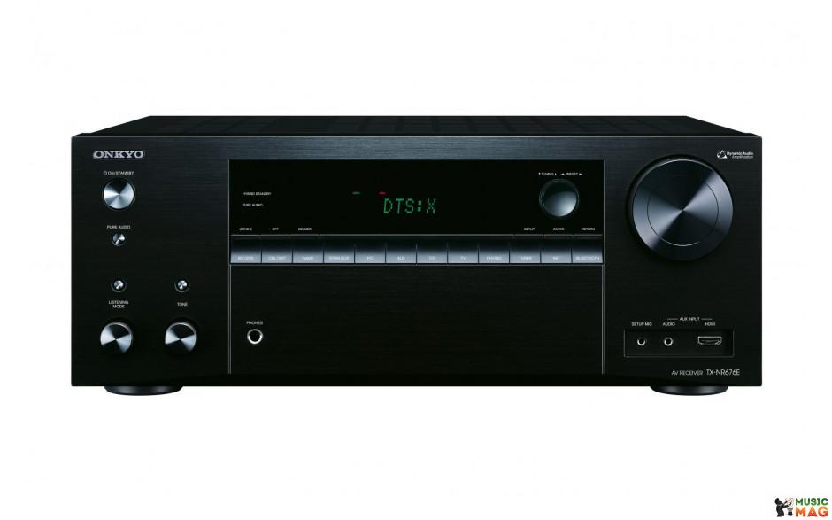 Onkyo TX-NR676E Black