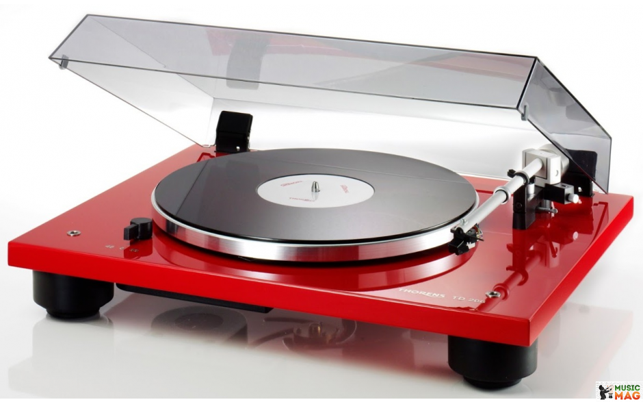 Thorens TD-206 Red High Gloss