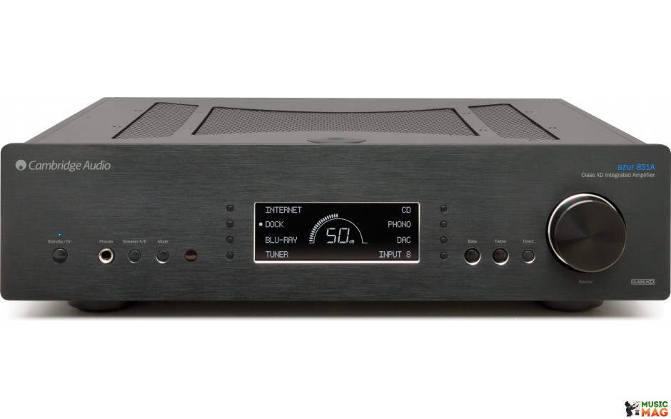 Cambridge Audio AZUR 851A Black