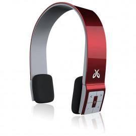 JayBird Sportsband Bluetooth Headphones - Toffee Apple Red