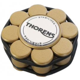 Thorens Stabilizer Golden in Wooden Box