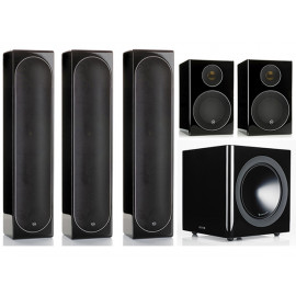 Monitor Audio Radius 225/225/90/380 set 5.1 Black