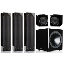 Monitor Audio Radius 225/225/45/380 set 5.1 Black