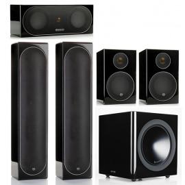 Monitor Audio Radius 225/200/90/380 set 5.1 Black