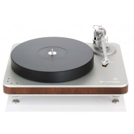 Clearaudio Ovation TT 033 Wood-version c тонармом Unify Carbon, Silver