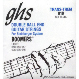 GHS STRINGS DB-GBL DOUBLE BALL END