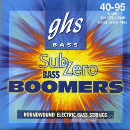 GHS STRINGS SUB-ZERO BOOMERS BASS SET