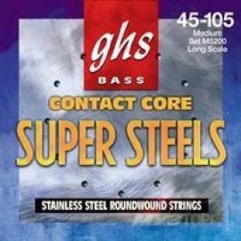 GHS STRINGS ML5000 BASS SUP ST LONG MEDIUM LIGHT