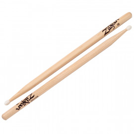 ZILDJIAN 2BNN NYLON NATURAL DRUMSTICKS