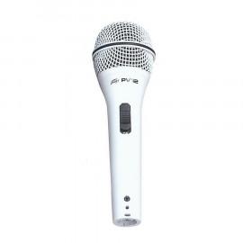 PEAVEY PVI2 WHITE XLR-XLR MICROPHONE