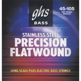 GHS STRINGS M3050 PRECISION FLATWOUND