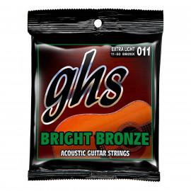GHS STRINGS BB20X BRIGHT BRONZE